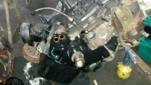 Motor offen